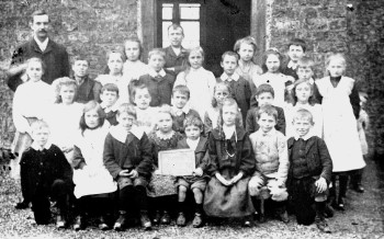 8b Rimington School then1905